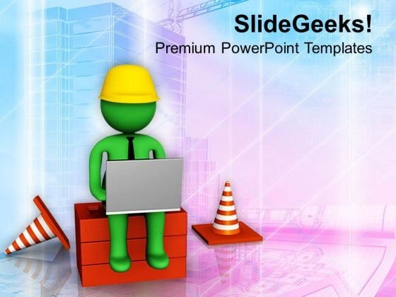 Use Internet For Latest Construction PowerPoint Templates Ppt Backgrounds For Slides 0813