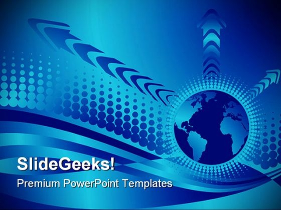 Vector Globe Abstract PowerPoint Themes And PowerPoint Slides 0311