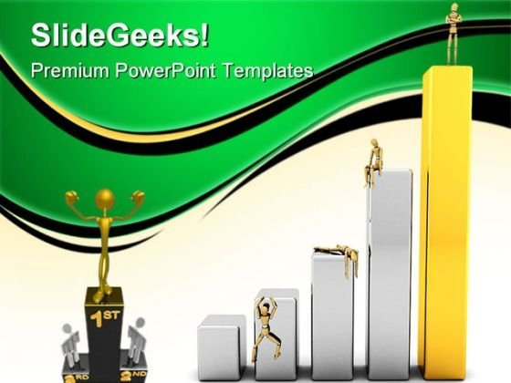Victory Business PowerPoint Themes And PowerPoint Slides 0811