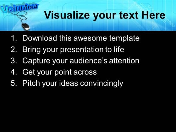 Volunteer with computer mouse powerpoint templates and powerpoint volunteerwithcomputermousepowerpointtemplatesandpowerpointthemes1112text toneelgroepblik Images