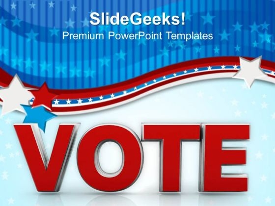 vote government power powerpoint templates and powerpoint themes