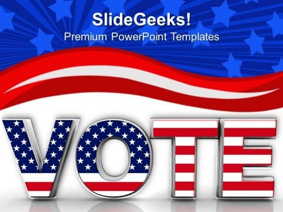 vote powerpoint templates slides and graphics