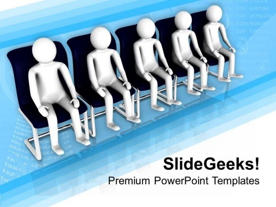 Wait For Your Turn PowerPoint Templates Ppt Backgrounds For Slides 0813