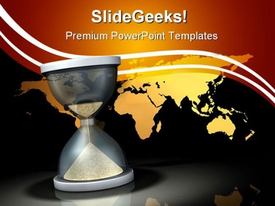 Waiting On The World Business PowerPoint Themes And PowerPoint Slides 0711