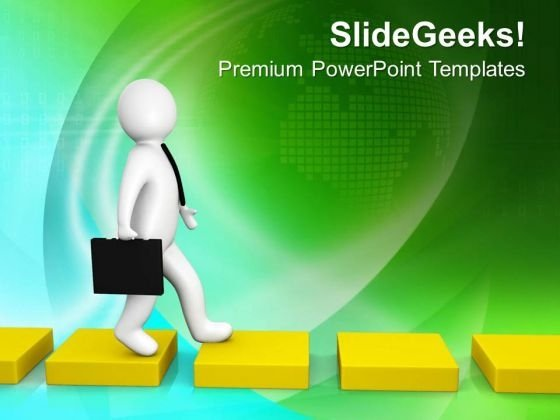 Way Of Success Should Be Perfect PowerPoint Templates Ppt Backgrounds For Slides 0713