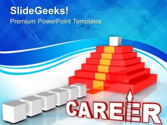 Way To Career Future Success PowerPoint Templates Ppt Backgrounds For Slides 0313