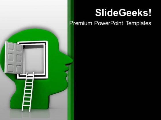 Way To Human Mind PowerPoint Templates Ppt Backgrounds For Slides 0713