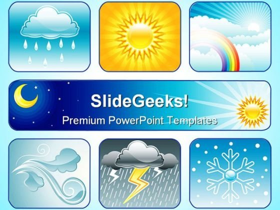 Weather And Climate Business PowerPoint Templates And PowerPoint Backgrounds 0611