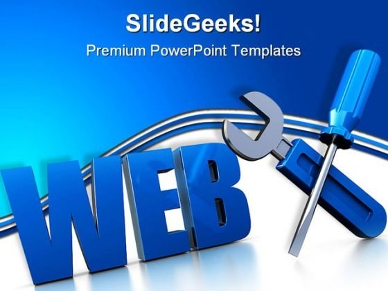Web Design Internet PowerPoint Templates And PowerPoint Backgrounds 0111