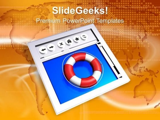 Web Internet Safety Powerpoint Templates Ppt Backgrounds For Slides