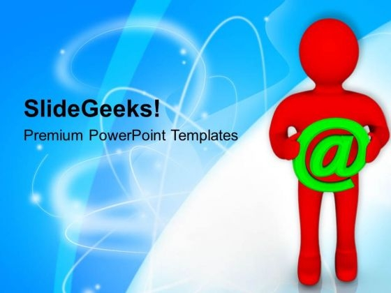 Web Is The New Address PowerPoint Templates Ppt Backgrounds For Slides 0813