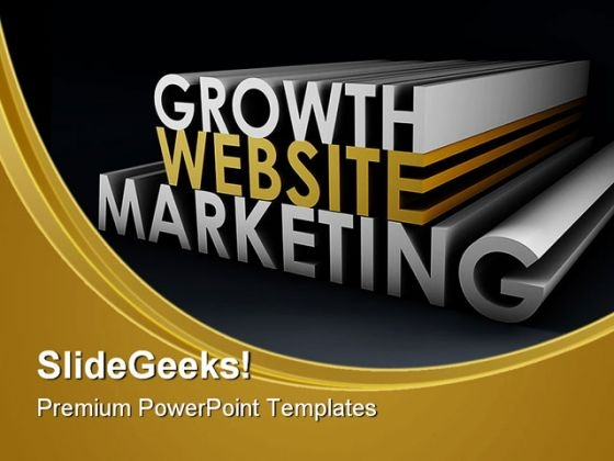 Website Marketing Business PowerPoint Themes And PowerPoint Slides 0411