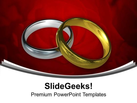 wedding rings youth powerpoint templates ppt background for slides 1112 powerpoint themes
