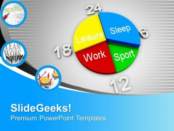 Weekday Schedule Concept PowerPoint Templates Ppt Backgrounds For Slides 0413