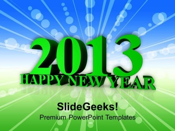 Welcoming New Year Business Concept PowerPoint Templates Ppt Backgrounds For Slides 1212