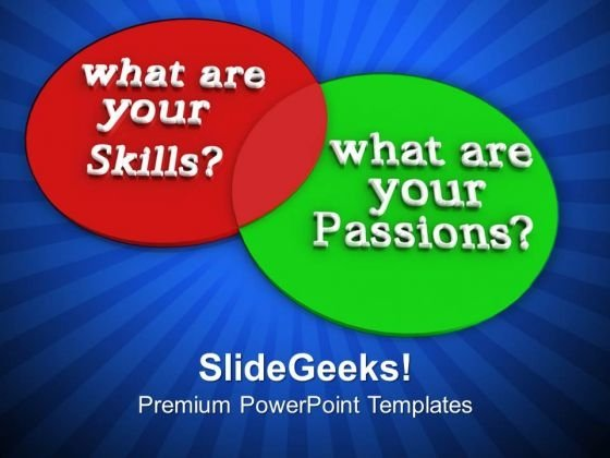 What Are Your Skills And Passions Success PowerPoint Templates Ppt Backgrounds For Slides 1112