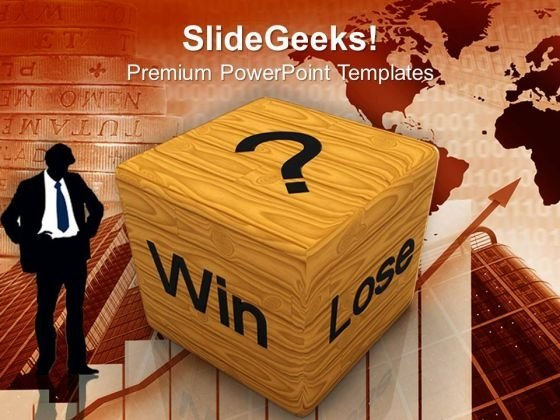 Win Lose Cube Business PowerPoint Templates Ppt Backgrounds For Slides 1112