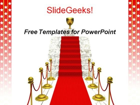 Winner Podium PowerPoint Presentation Template