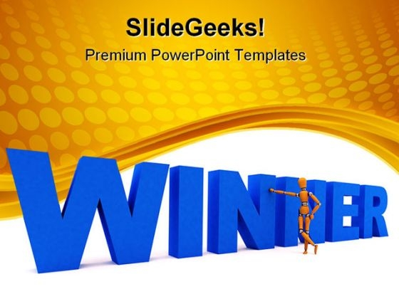 Winner Competition PowerPoint Themes And PowerPoint Slides 0411