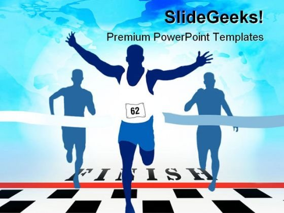 Winner Sports PowerPoint Themes And PowerPoint Slides 0511