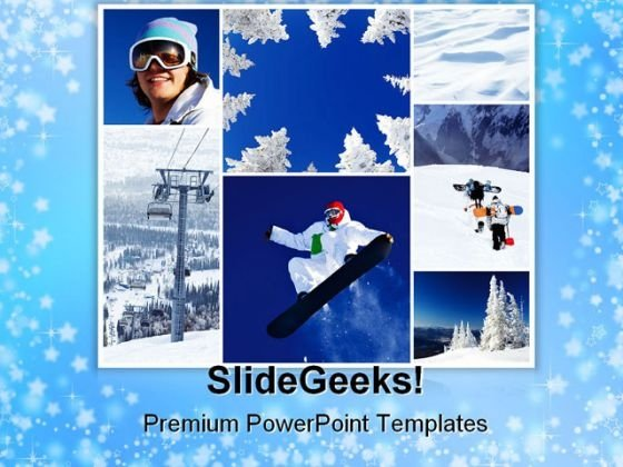 winter collage holidays powerpoint templates and powerpoint