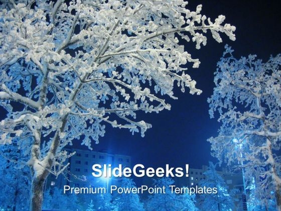 Winter Comes With Lot Of Snow PowerPoint Templates Ppt Backgrounds For Slides 0613