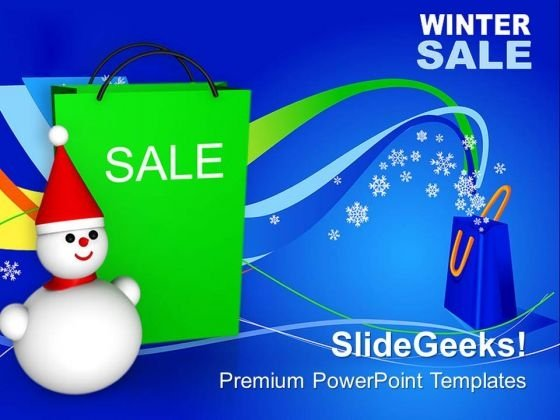 Winter Sale Christmas PowerPoint Templates Ppt Backgrounds For Slides 1212