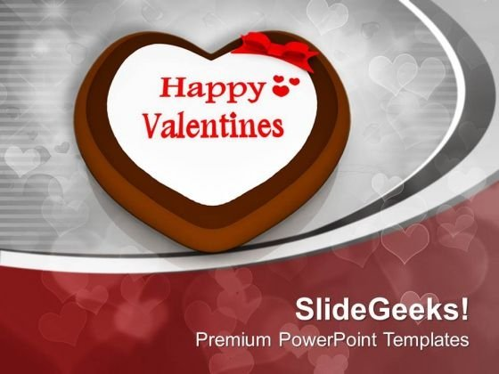 Wish Happy Valentine Day To Loved One PowerPoint Templates Ppt Backgrounds For Slides 0713