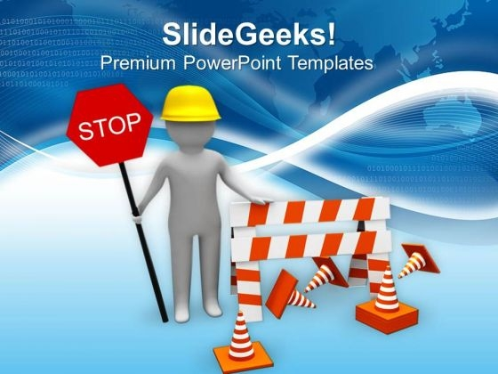 work under construction powerpoint templates ppt backgrounds for