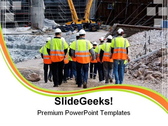 Workers Construction PowerPoint Themes And PowerPoint Slides 0411