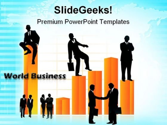 World Business People PowerPoint Templates And PowerPoint Backgrounds 0811
