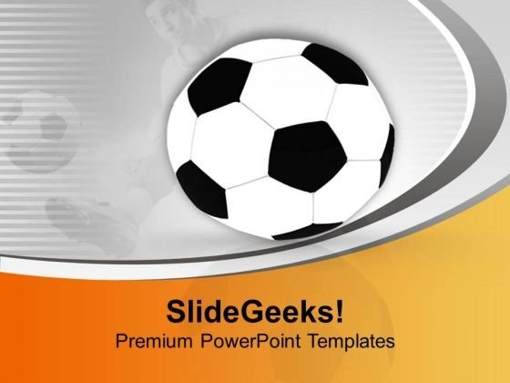 World Cup Football Theme PowerPoint Templates Ppt Backgrounds For Slides 0513