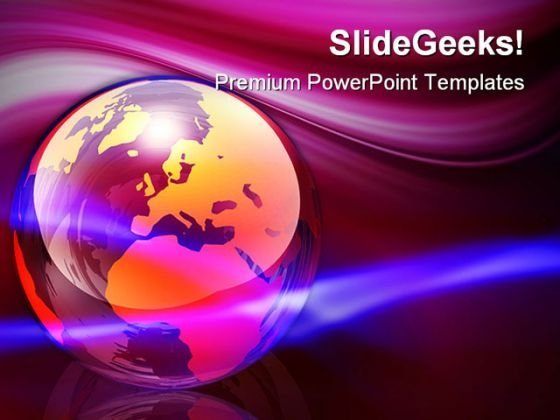 World Energy Globe PowerPoint Templates And PowerPoint Backgrounds 0211