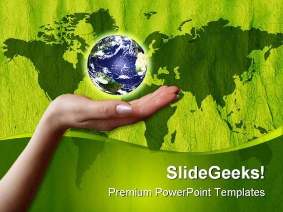 World In Hand01 Global PowerPoint Templates And PowerPoint Backgrounds 0311
