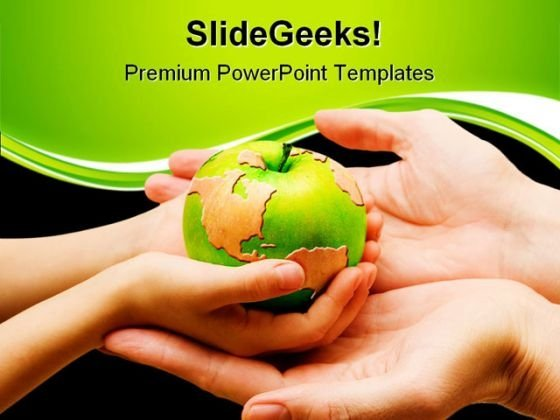 World In Your Hand Global PowerPoint Templates And PowerPoint Backgrounds 0511