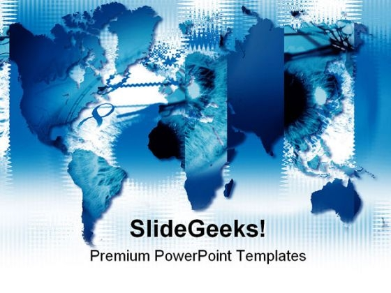 World Map01 Global PowerPoint Templates And PowerPoint Backgrounds 0611