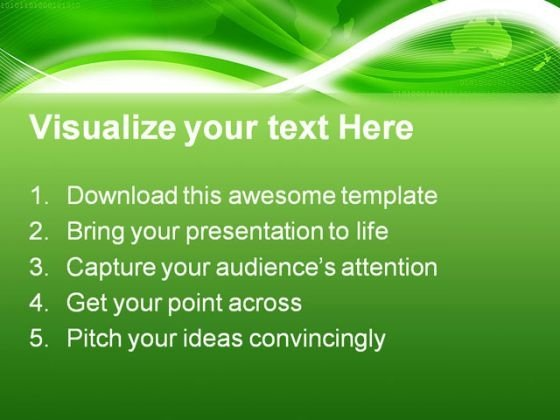 world_map_green_background_powerpoint_template_0910_text