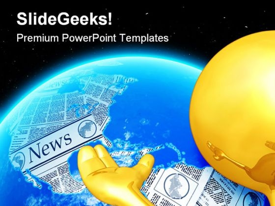 World News Global PowerPoint Themes And PowerPoint Slides 0711