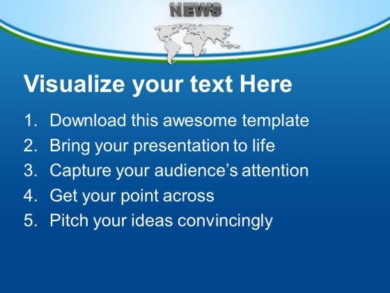 world news powerpoint templates ppt backgrounds for slides 0513, Modern powerpoint