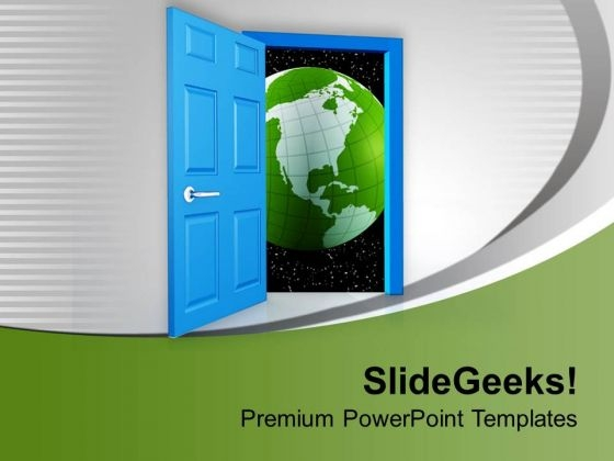 World Of Opportunities PowerPoint Templates Ppt Backgrounds For Slides 0713