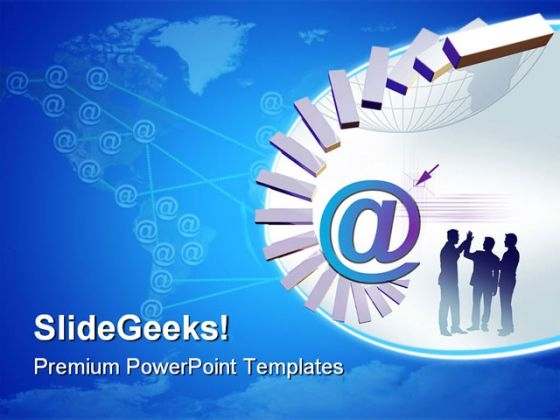 World Of Web Internet PowerPoint Templates And PowerPoint Backgrounds 0811