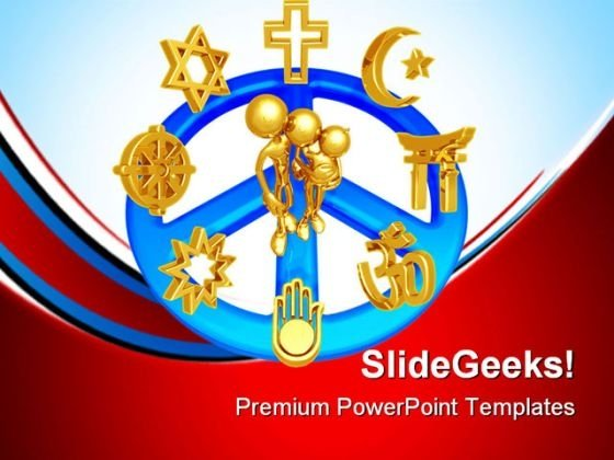 World Religions Family PowerPoint Templates And PowerPoint Backgrounds 0811