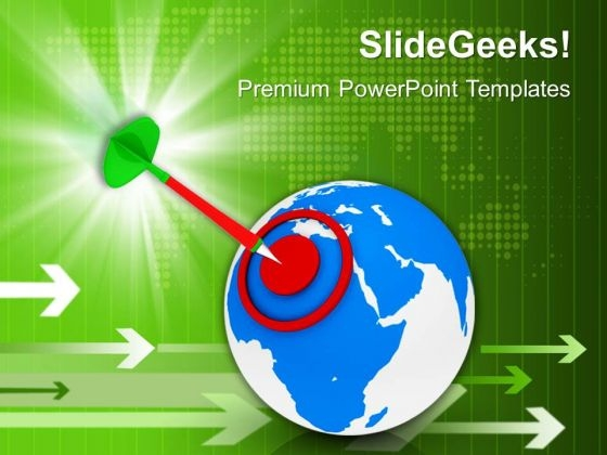 World Target Strategy Business PowerPoint Templates Ppt Backgrounds For Slides 1112