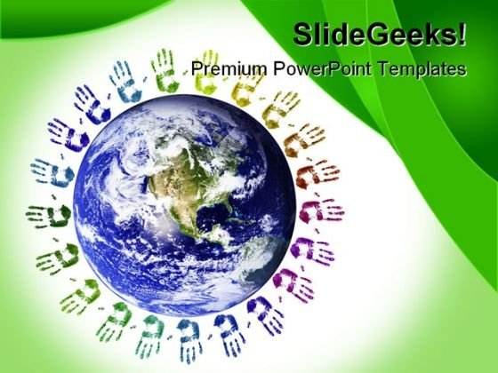 World Unity Globe PowerPoint Templates And PowerPoint Backgrounds 0311