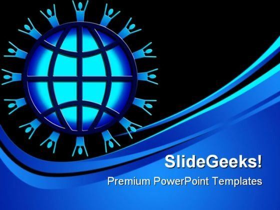 World Wide Web Global PowerPoint Templates And PowerPoint Backgrounds 0411