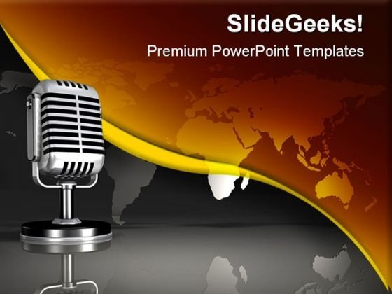 Worldwide Broadcast Globe PowerPoint Templates And PowerPoint Backgrounds 0611