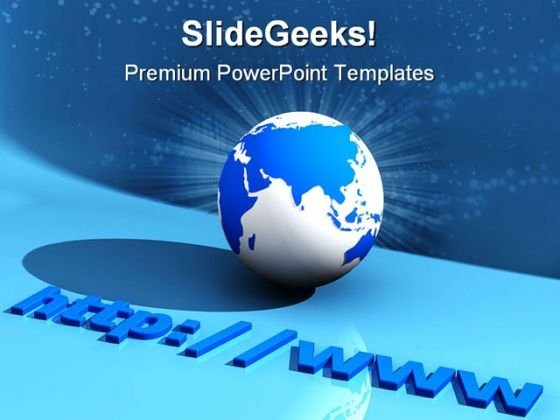 Www Internet Global PowerPoint Templates And PowerPoint Backgrounds 0711