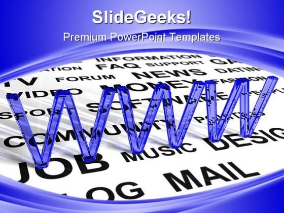 Www Internet PowerPoint Backgrounds And Templates 0111