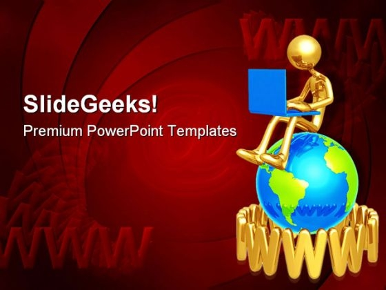 Www Internet PowerPoint Themes And PowerPoint Slides 0911