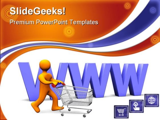 Www Shopping Sales PowerPoint Themes And PowerPoint Slides 0311